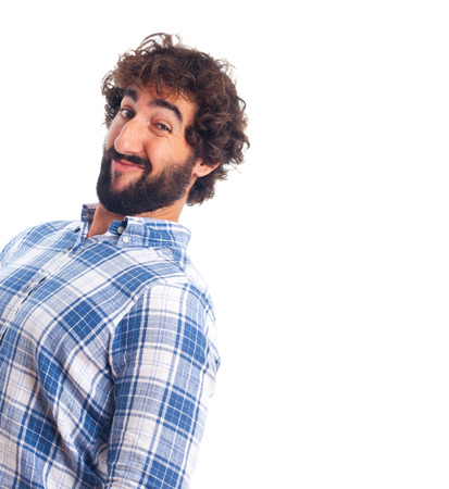 young bearded man photo