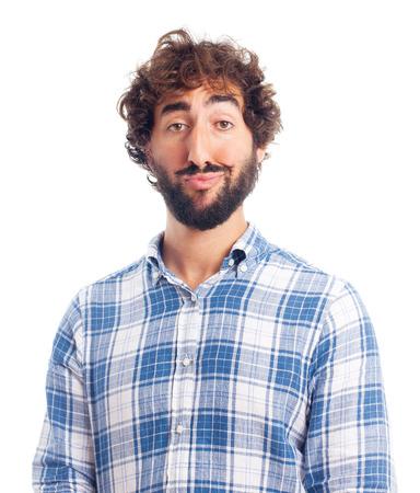 superb: young superb man Stock Photo