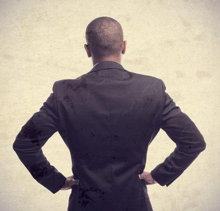 impasse: young cool black man back