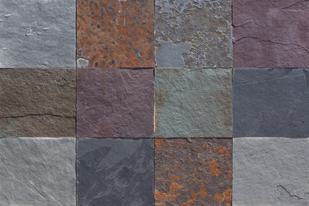 natural stone: tiled stones