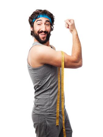 sportsman: sportsman  diet sign