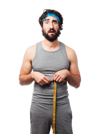 sportsman: sportsman diet concept Stock Photo