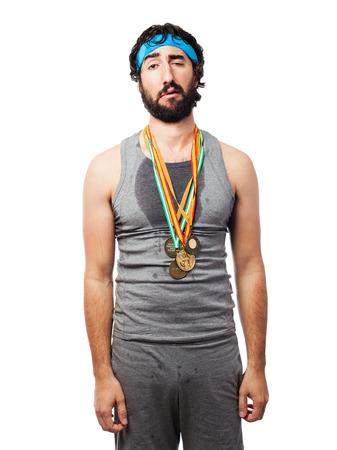 sportsman: loser sportsman