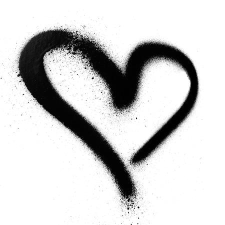heart spray paint