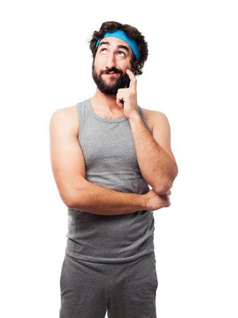sportsman: sportsman thinking