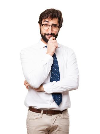 businessman having an idea Stock Photo