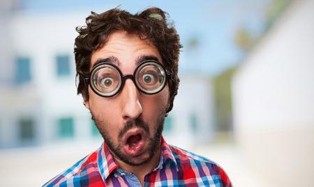 shocked crazy man Imagens - 41534784