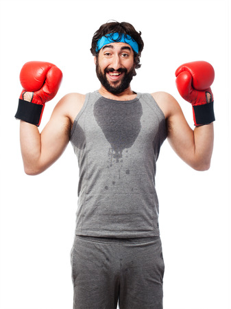 sportsman: sportsman boxing