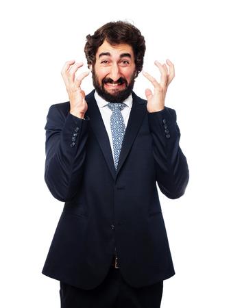 loser businessman Stock Photo