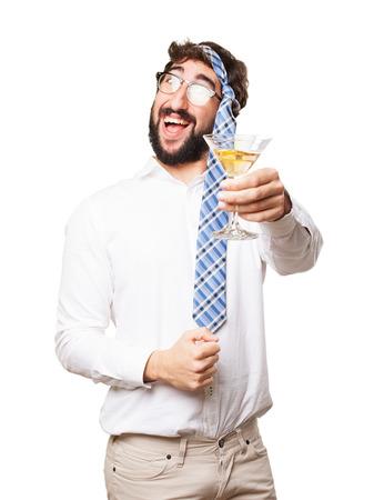 imbécil: engañar a hombre en una fiesta