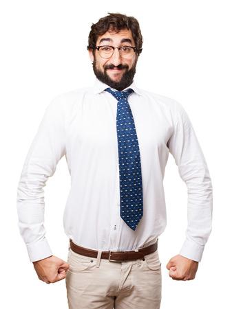 proud businessman