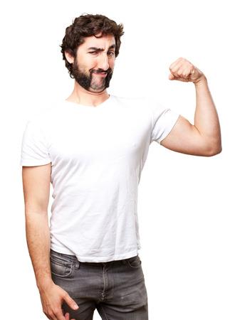 tonto: hombre fuerte locura