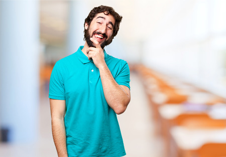 bearded: happy bearded man