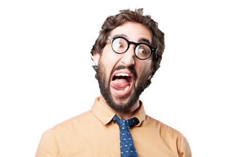 loony: crazy man.funny expression