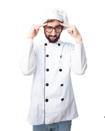 restaurant questions: crazy chef angry expression