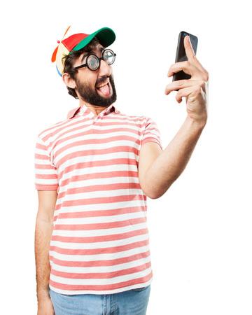 tonto: fool crazy man. happy expression