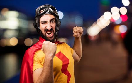 molesto: loco súper héroe de la lucha