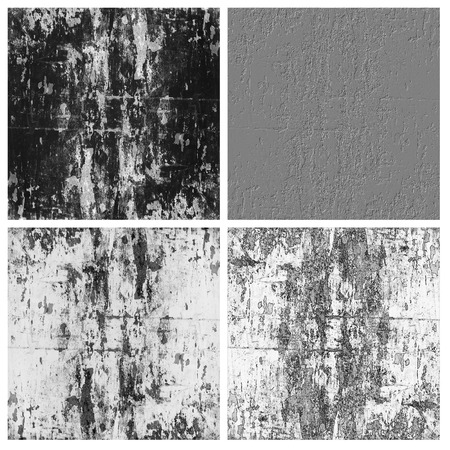grunge textureset of empty rouge places to your concept or product