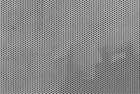 armored steel fence texture or background.
