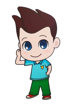 buoyant: Character Cartoon