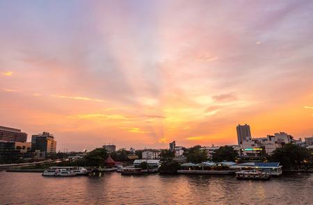 twilight: Twilight Time at bangkok Thailand
