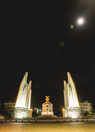 democracy Monument: Democracy Monument at Night Thailand