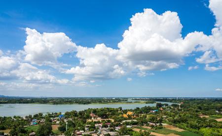 kanchanaburi: Countryside for kanchanaburi in Thailand Stock Photo