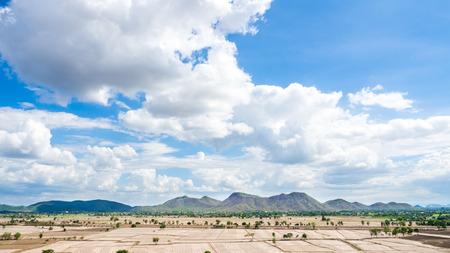 mountains and sky: mountains Sky and vole kanchanaburiThailand
