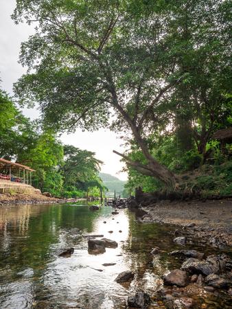 Unseen Thailand Nature Mountains River and Sky at Kaeng Krachan National Park, Phetchaburi Province, Thailand