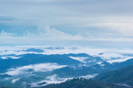 Beautiful Nature and Sky for Unseen Thailand and Top Travel at Thong pha phum National Park kanjanaburi ,Thailand Stock Photo