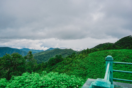 unseen: beautiful view landscape or nature and sky for top travel in thailand and unseen thailand at Thailand
