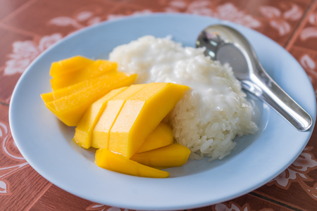 sticky: Mango with Sticky Rice