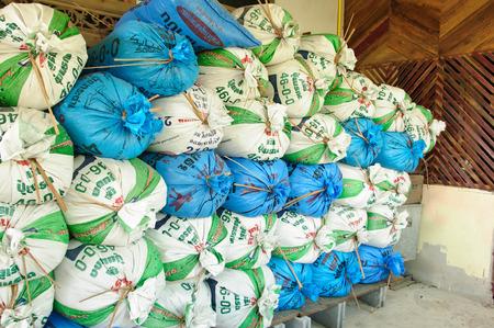 sacks: Rice sacks