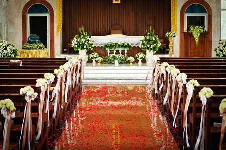 Church for wedding  ceremony