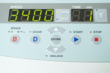 centrifuge: blood centrifuge for laboratory of medicine Stock Photo