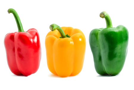 pepper bell isolated on white background