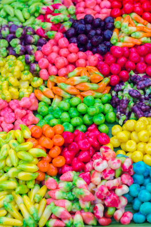 The candy coating is many fruits and Thailand. photo