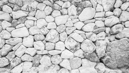 Stone walls lined up white beautiful. Lizenzfreie Bilder