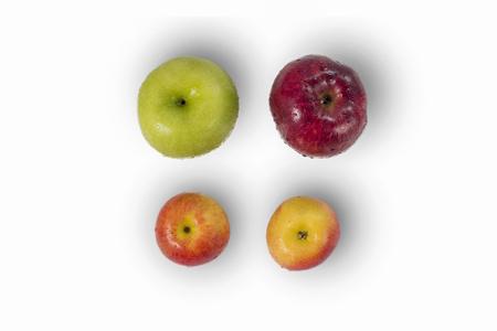 Apple variety apples isolated,on white background Lizenzfreie Bilder