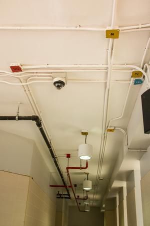 Ceiling lamp spotlight. Modern lighting for a interior