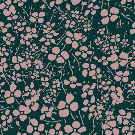 pattern: Seamless Floral Pattern Illustration