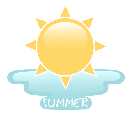 Summertime 向量圖像