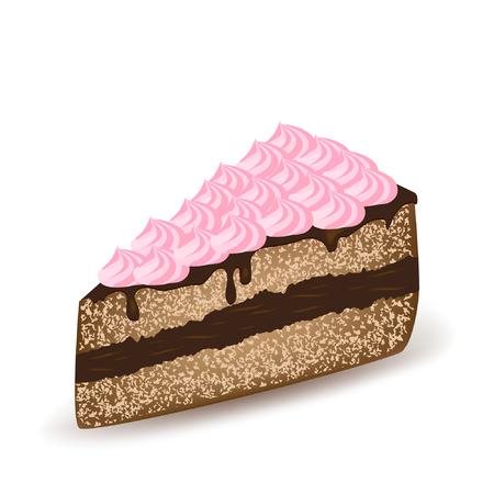 Pink Topping Cake.