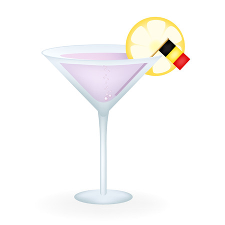 Belgium Cocktail Illustration