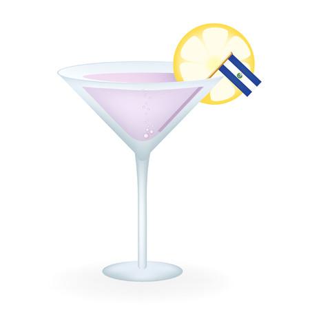 bandera de el salvador: El Salvador Cocktail