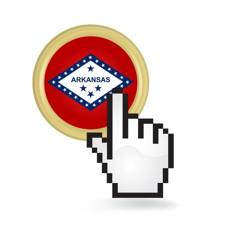 Arkansas Button Click