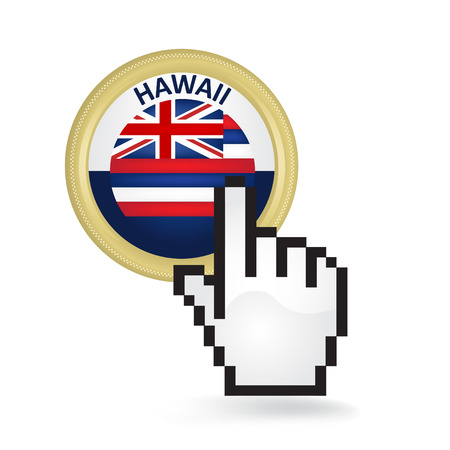 Hawaii Button Click