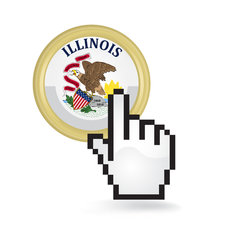 Illinois Button Click