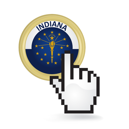 Indiana Button Click