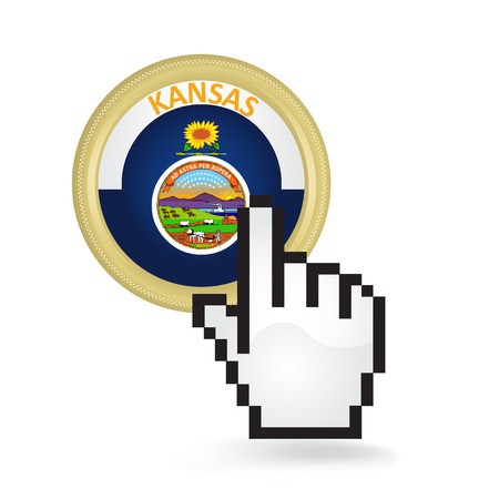 Kansas Button Click